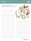 LIB_SantaANDCookieDecoration Sign Up Sheet Cookie